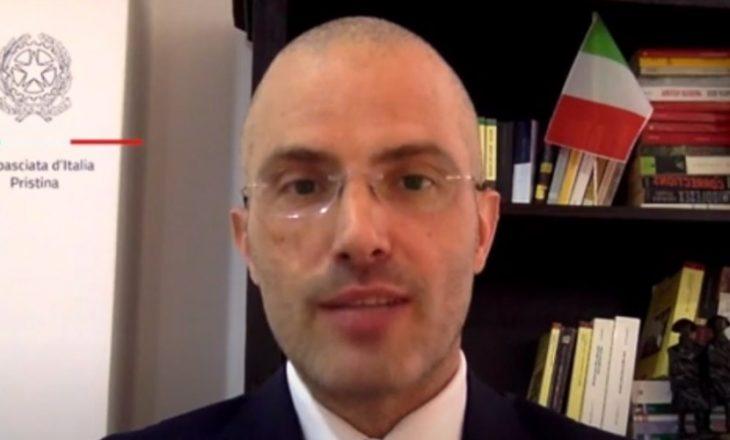 Ambasadori italian: Bojkotimi i seancës gjatë kohës sa votohet Presidenti nuk i sjellë dobi askujt