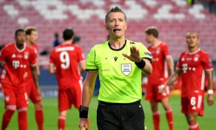 Orsato caktohet të ndajë drejtësinë në supersfidën PSG vs Bayern Munchen