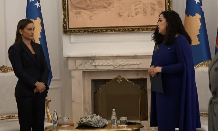 Majlinda Kelmendi e ftuara e parë e presidentes Vjosa Osmani