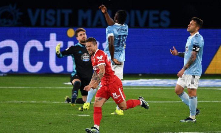 Sevilla mposht Celta Vigon në sfidën që dhuroi shtatë gola