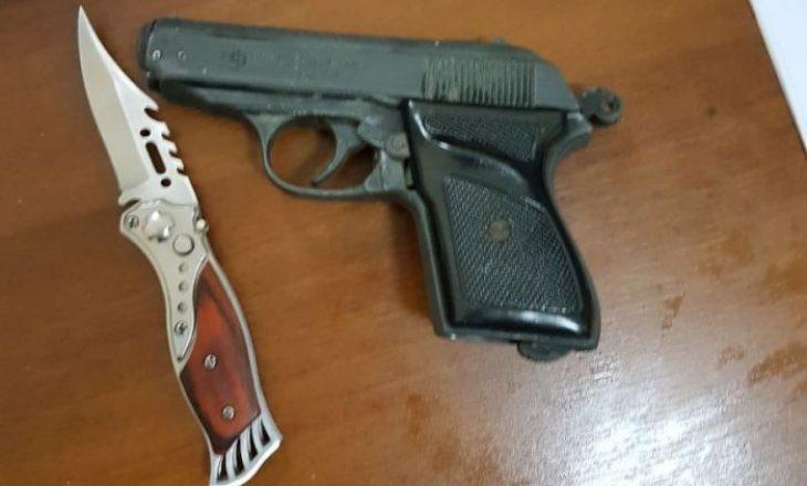 Policia konfiskon armë dhe municion në Viti