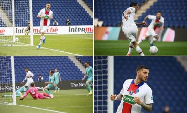 PSG-ja mposht bindshëm Angersin në Kupën e Francës, shkëlqen Icardi me tre gola