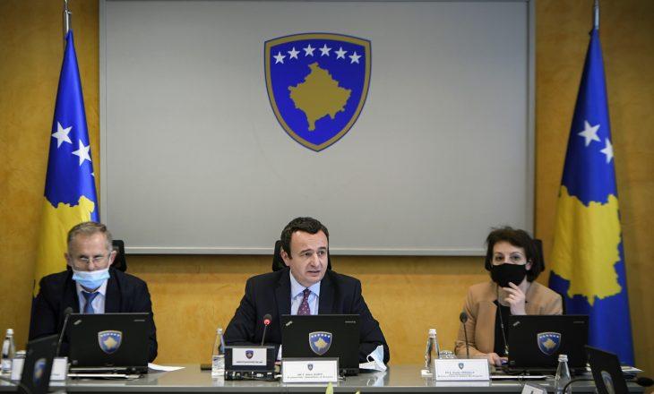 Qeveria e Kosovës: Nuk jemi të njoftuar për takimin Kosovë-Serbi më 11 maj