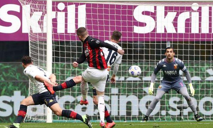 "Milan mposht Genoan në ""San Siro"""