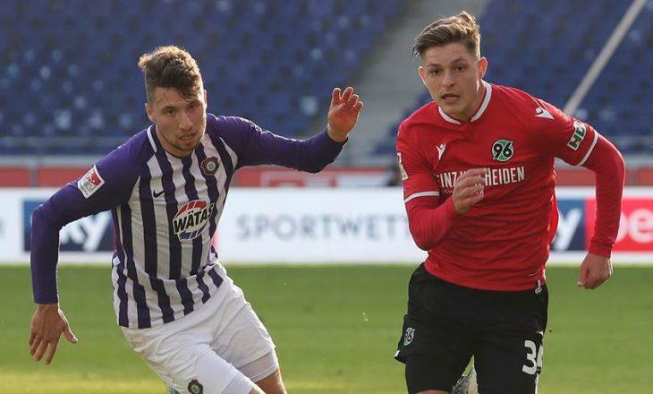 Florent Muslija shënon supergol në disfatën e Hannover 96 në Bundesliga 2
