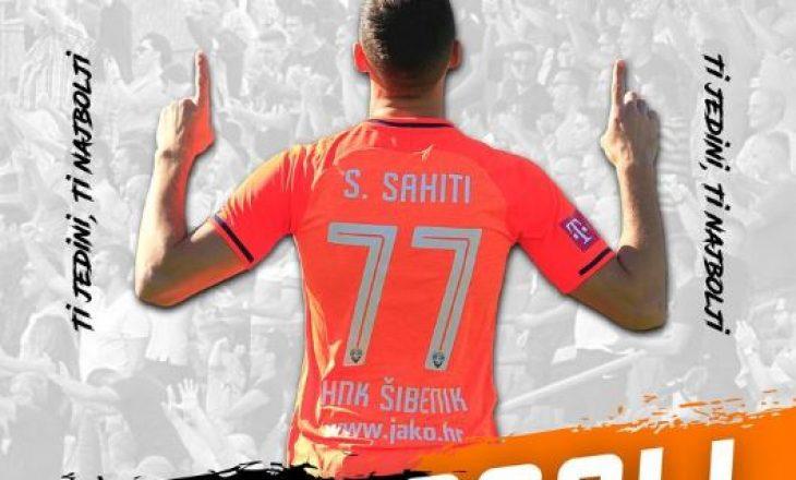 Suad Sahiti shënon gol në barazimin e Sibenikut me Goricën në Kroaci