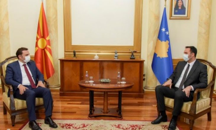 Osmani pas takimit me Konjufcën: Do të përkrahim Kosovën në rrugën e integrimit euro-atlantik