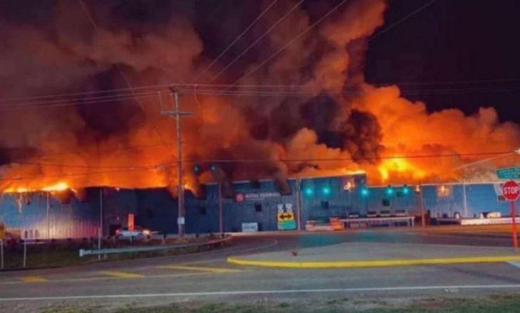 Nga një shpërthim në një fabrikë të Ohajos në SHBA, tetë persona kanë mbetur të plagosur dhe një është i zhdukur