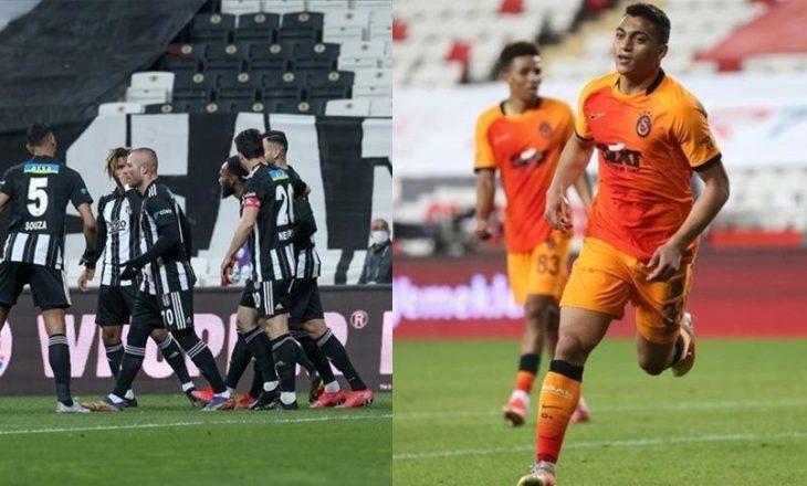 Superliga turke: Besiktas dhe Galatasaray shënojnë fitore