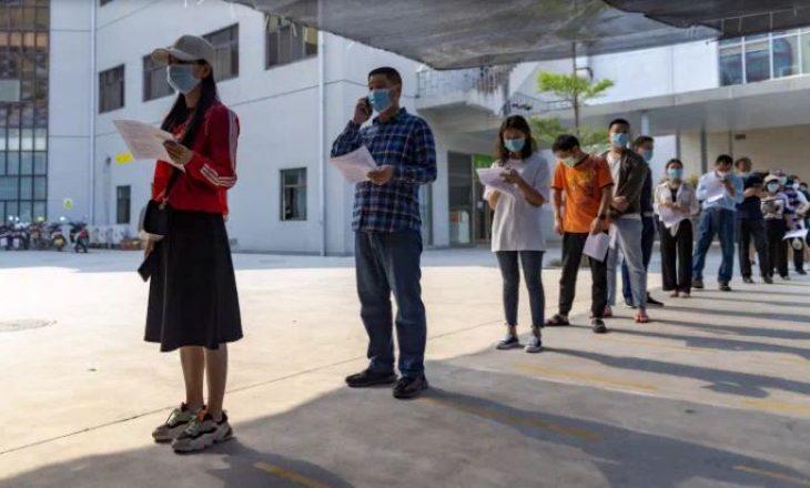 Kina synon të vaksinojë një qytet të tërë në 5 ditë pas shpërthimit të rasteve