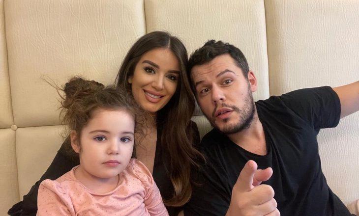 Valdrin Sahiti reagon pas kritikave se nuk flet shqip me vajzën