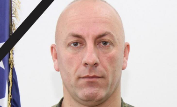 Ministri i Mbrojtjes: Ndarja nga jeta e nënkolonel Skender Hajdarit, na tronditi të gjithëve