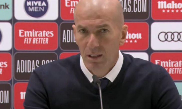 """Zidane pas triumfit në """"El Classico"""": Ndeshjen e fituam vetë, nuk na dha arbitri"""