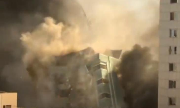 Korrespondenti i Al Jazeera: Gjithçka u zhduk në dy sekonda