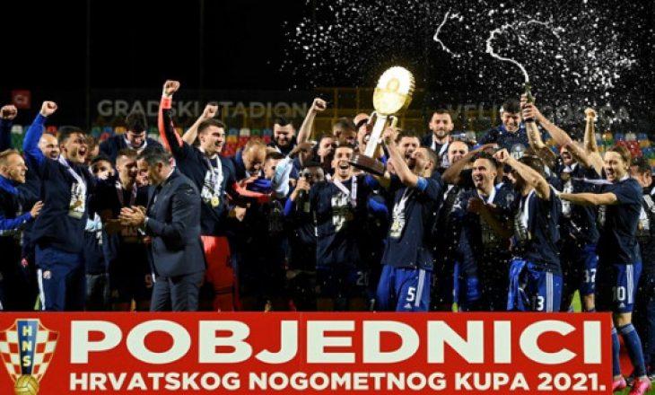 Lirim Kastrati dhe Arijan Ademi me Dinamon e Zagrebit fitojnë Kupën e Kroacisë