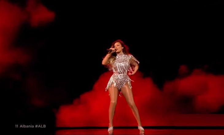 Sonte nata e dytë e Eurovision-it, Anxhela Peristeri me super performancë