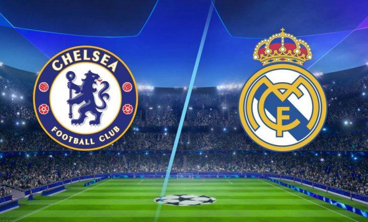 Ndeshja e kthimit mes Chelsea dhe Real Madrid në Champions League – formacionet zyrtare