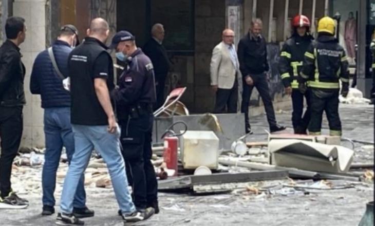 Shpërthim në qendër të Beogradit