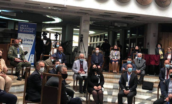"Nga sot nis punën biblioteka presidenciale ""Ibrahim Rugova"""