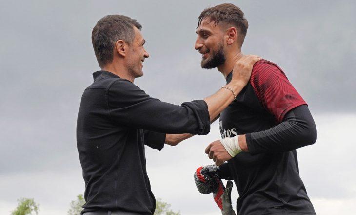 Donnarumma dhe Milani kanë ndarë rrugët, kështu flet legjenda Maldini