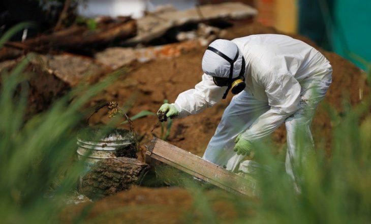 Trupat e të paktën tetë personave janë gjetur në kopshtin e ish-policit në El Salvador