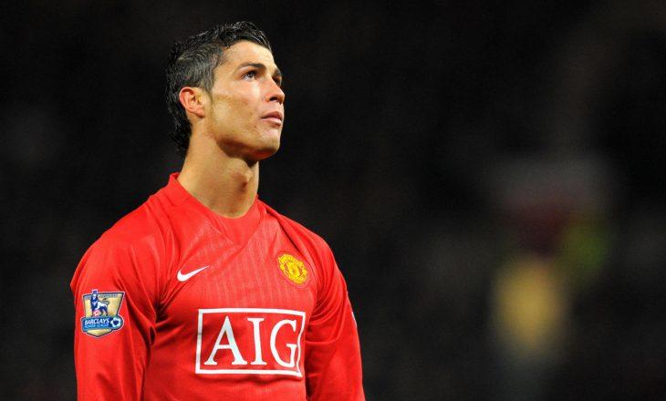 Ronaldo kujton 12 vjetorin e një momenti të rëndësishëm në Man United