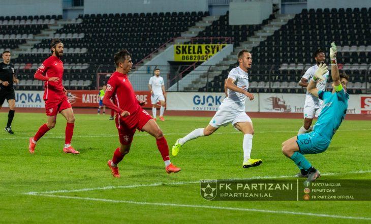 Kategoria Superiore: Partizani fiton ndaj Apolonisë, Vllaznia dhe Teuta ndajnë pikët