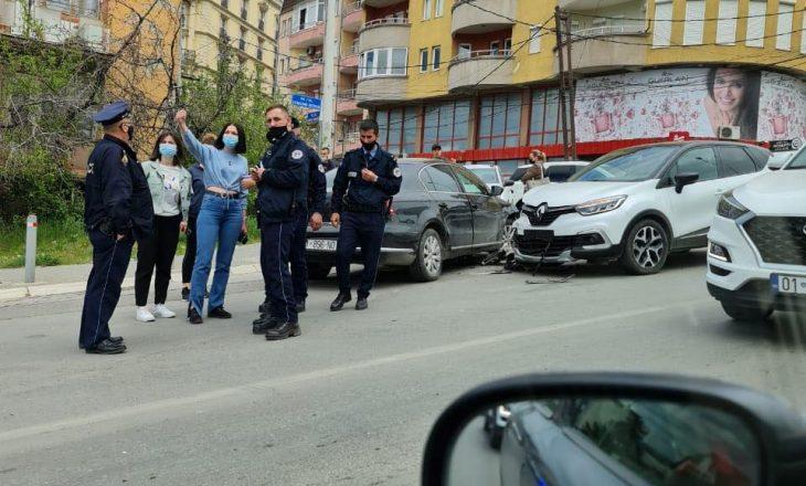 Aksident afër mensës së studentëve në Prishtinë