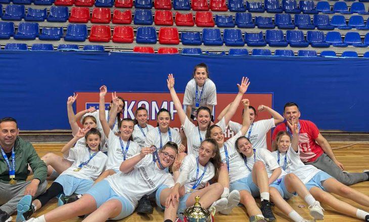 Vushtrria shpallet kampione në Ligën e Parë, fitoi finalen e tretë përballë United Basketball