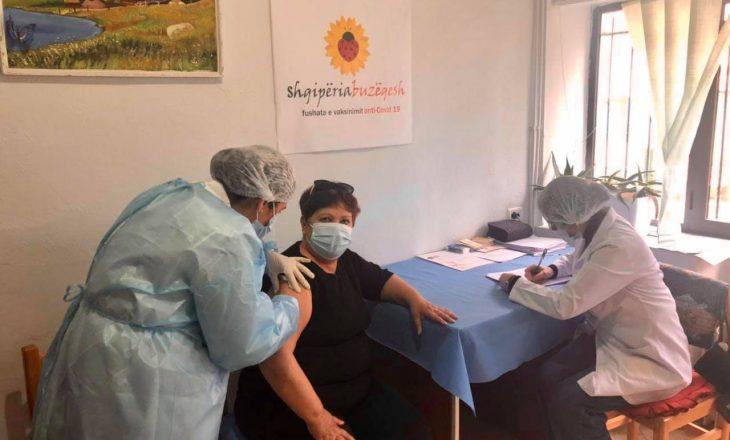 Mbi 664 mijë të vaksinuar në Shqipëri