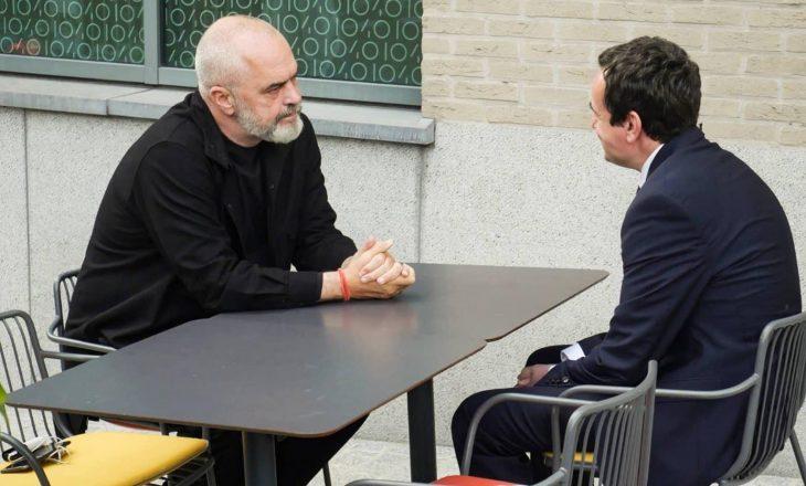 Kurti takohet me Ramën në Bruksel: U takuam miqësisht e pa protokoll