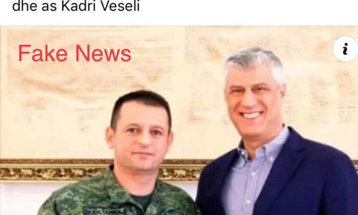 """""""Mos u ktheftë kurrë nga Haga, Thaçi e Veseli"""", reagon koloneli i FSK-së: Shpifje tendencioze"""