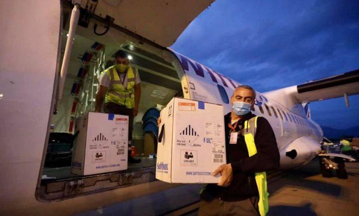 11 mijë vaksina Pfizer arrijnë në Shqipëri