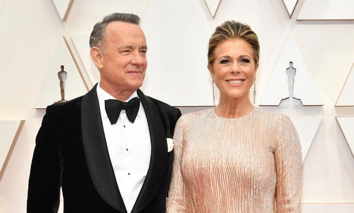 Rita Wilson dhe Tom Hanks festojnë 33 vjetorin e martesës