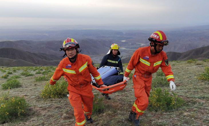 Së paku 16 persona kanë humbur jetë në maratonën malore në Gansu të Kinës