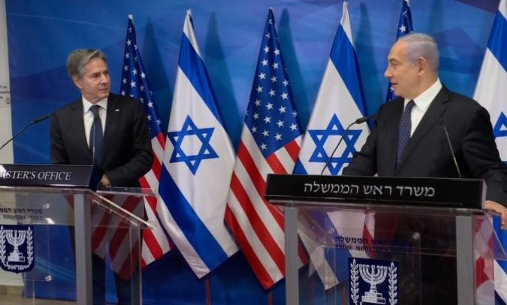 Netanyahu premton përgjigje 'shumë të fuqishme' nëse prishet armëpushimi pas takimit me Sekretarin Amerikan të Shtetit