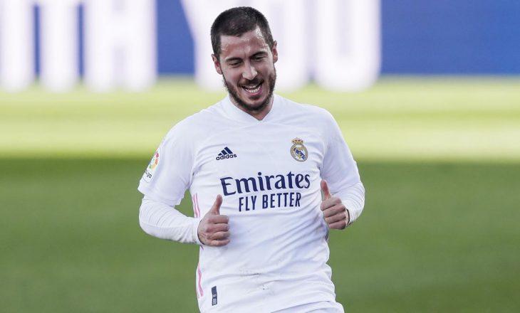 Hazard i kërkon falje tifozëve madrilenë, pasi u pa duke qeshur me lojtarët e Chelseas
