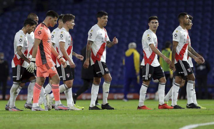 River Plate rrezikon ndeshjen e Copa Libertadores me Santa Fe, shkon në 20 numri i lojtarëve të infektuar me Coronavirus