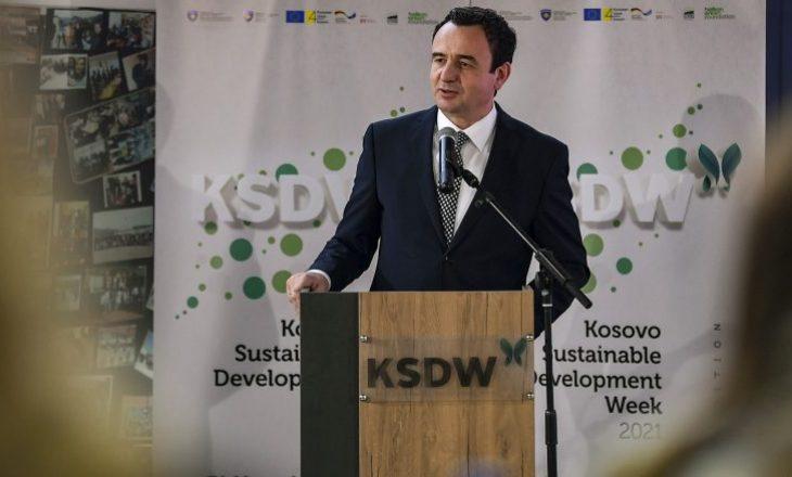 Kurti: Pandemia në Kosovë e ka thelluar varfërinë dhe pabarazinë