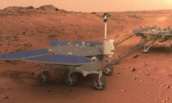 Kina bëhet vendi i dytë në botë që zbarkon roverin e saj 'Zhurog' në Mars