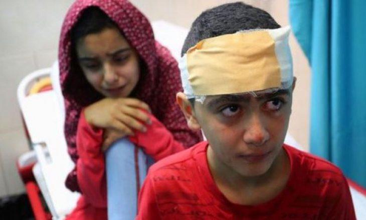 Raketat izraelite kanë lënë të vdekur tetë fëmijë dhe dy gra të një familje në Gaza