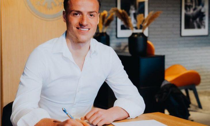 Diant Ramaj transferohet në Eintracht Frankfurt