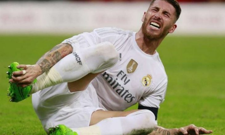 Sergio Ramos pritet të mungojë në ndeshjet e mbetura të këtij edicioni