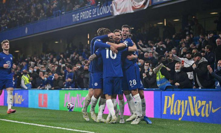 Chelsea mposht rivalin direkt për Champions, Leicesterit i rrezikohet vendi i katërt nga Liverpool