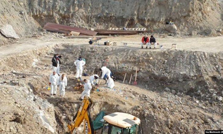 Sot rifillojnë gërmimet në Kizhevak të Serbisë
