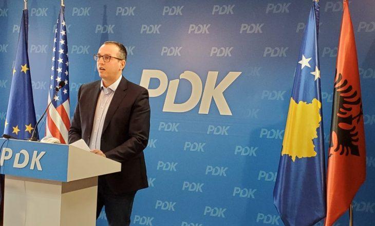 Sekretari i PDK-së për Kurtin e Osmanin: Historia do t'i hedhë në koshin e plehrave