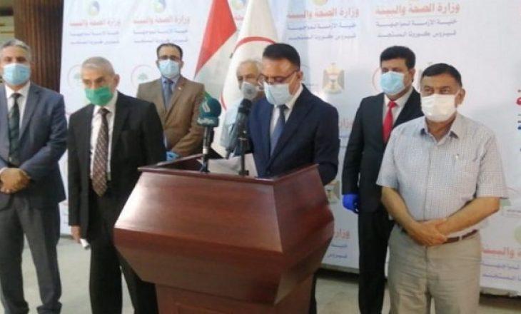 Ministri i Shëndetësisë i Irakut jep dorëheqjen për shkak të zjarrit vdekjeprurës në spital ku trajtoheshin pacientët me COVID