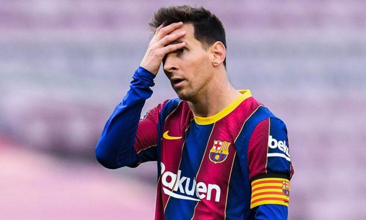 Lionel Messi tregon vesin e tij më të keq