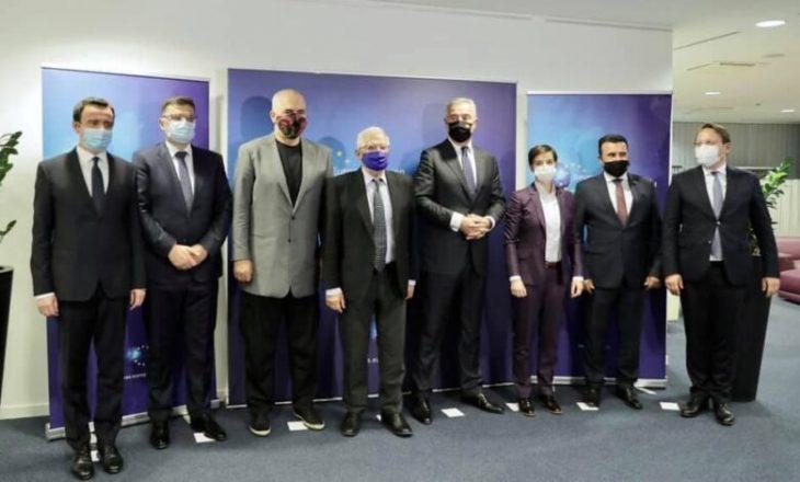 BE demanton dokumentin e publikuar pas darkës së liderëve të Ballkanit në Bruksel