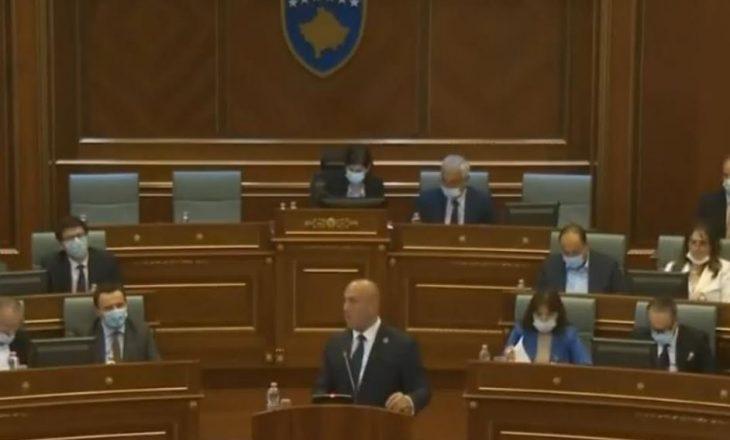 Haradinaj-Kurtit: Po jepni sinjale se jeni Qeveria më e korruptuar